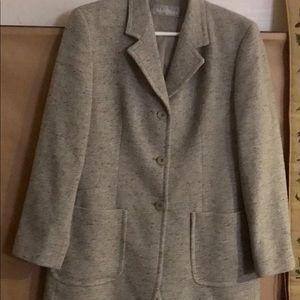 Max Mara Jacket Blazer size 12 Wool